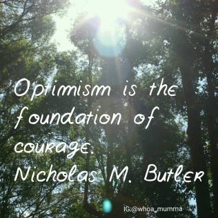 Fighting #chronicillness & #chronicpain the best tool you have is #optimism & #courage #whoamumma