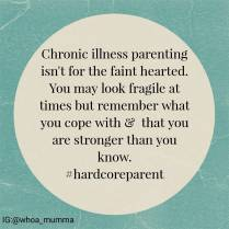 You are stronger and more determined than you realise. Well done for being you & not giving up. #chronicillness #chronicpain #Parenting #spoonie #spoonieparent #beautyineveryday #whoamumma #hardcoreparent