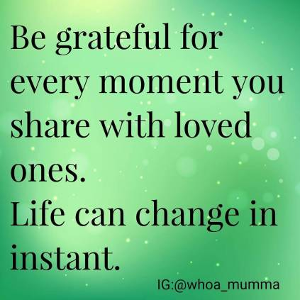 A friend had a tragedy this week and it's made us stop and appreciate those we loved and love us. #holdyourbabiestight #love #grattitude #beautyineveryday #whoamumma