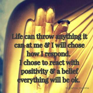 Life is challenging for me at the moment, seems to be one hit after another but only I can chose how I react and I chose to see the positives in life. #staypositive #c hosehappiness #chronicillness #chronicpain #beautyineveryday #whoamumma