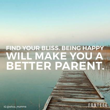 Find the path the makes you happy. Being happy will make you a better parent #spoonieparent #parentingwithchronicillness #whoamumma