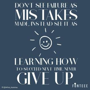 Next time you think that you shouldn't try something for fear of past failures consider that maybe they weren't the right thing to do for you. Is the right thing waiting for you, never give up, you can find your own success #perspective #staypositive #spoonieparent #parentingwithchronicillness #chronicillness #chronicpain #beautyineveryday #whoamumma