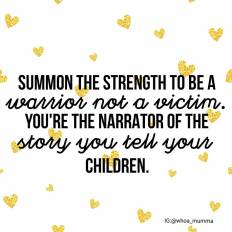 Be a #warrior when you can, show your #children what #strength you possess and what can be #achieved against the odds. #chronicillness #chronicpain #Parenting #spoonie #spoonieparent #beautyineveryday #whoamumma