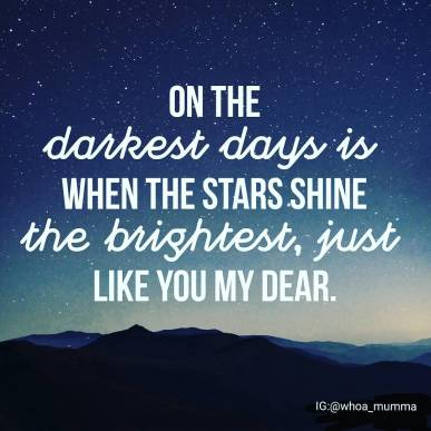 Shine bright like the stars #chronicillness #chronicpain #beautyineveryday #whoamumma