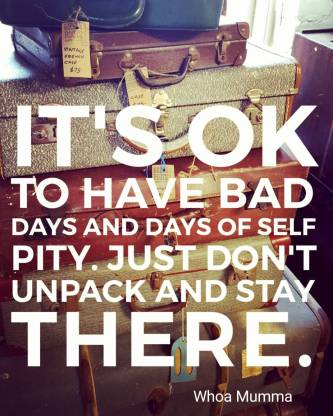 Monday reminder that's it's ok to not be ok. Just don't unpack and stay there. #selfcare #chronicillness #chronicpain #spoonie #spoonieparent #beautyineveryday #whoamumma