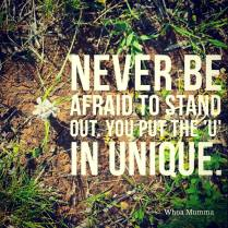 Never be afraid of being unique and standing out. Too often those with chronic illness stay hidden and away from the spotlight for fear of judgement or needing to explain their illness. You should never feel that you can't be you, embrace who and what you are, after all its what makes you unique. #chronicillness #chronicpain #Parenting #spoonie #spoonieparent #unique #justbeyou #beautyineveryday #whoamumma